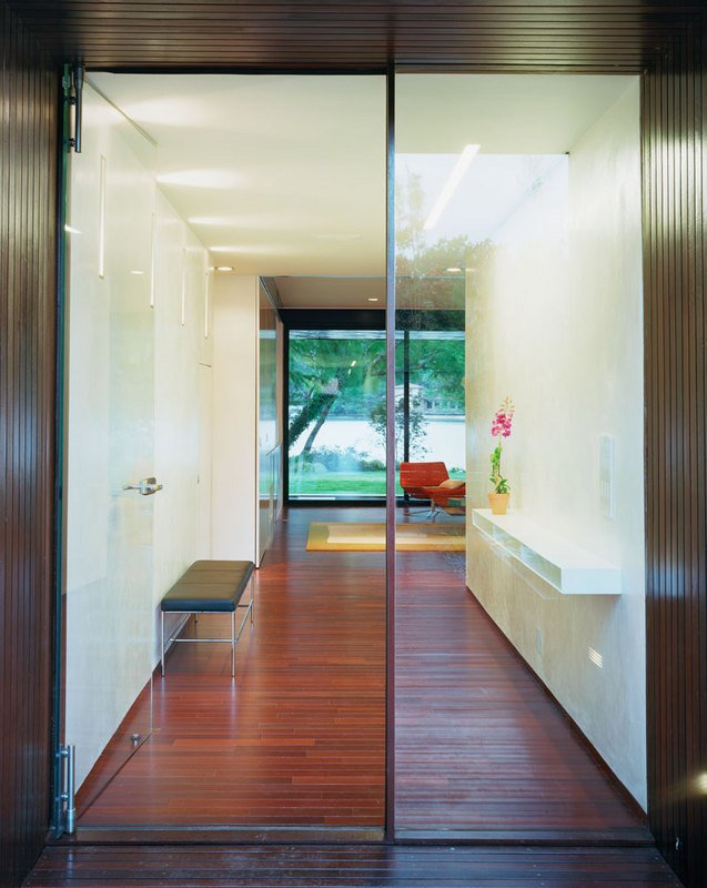 #PeninsulaResidence #lakeside #glass #steel #materials #modern #structure#outdoor #doorway #interior #inside #indoors #LakeAustin #BercyChenStudio  The Peninsula Residence by Bercy Chen Studio