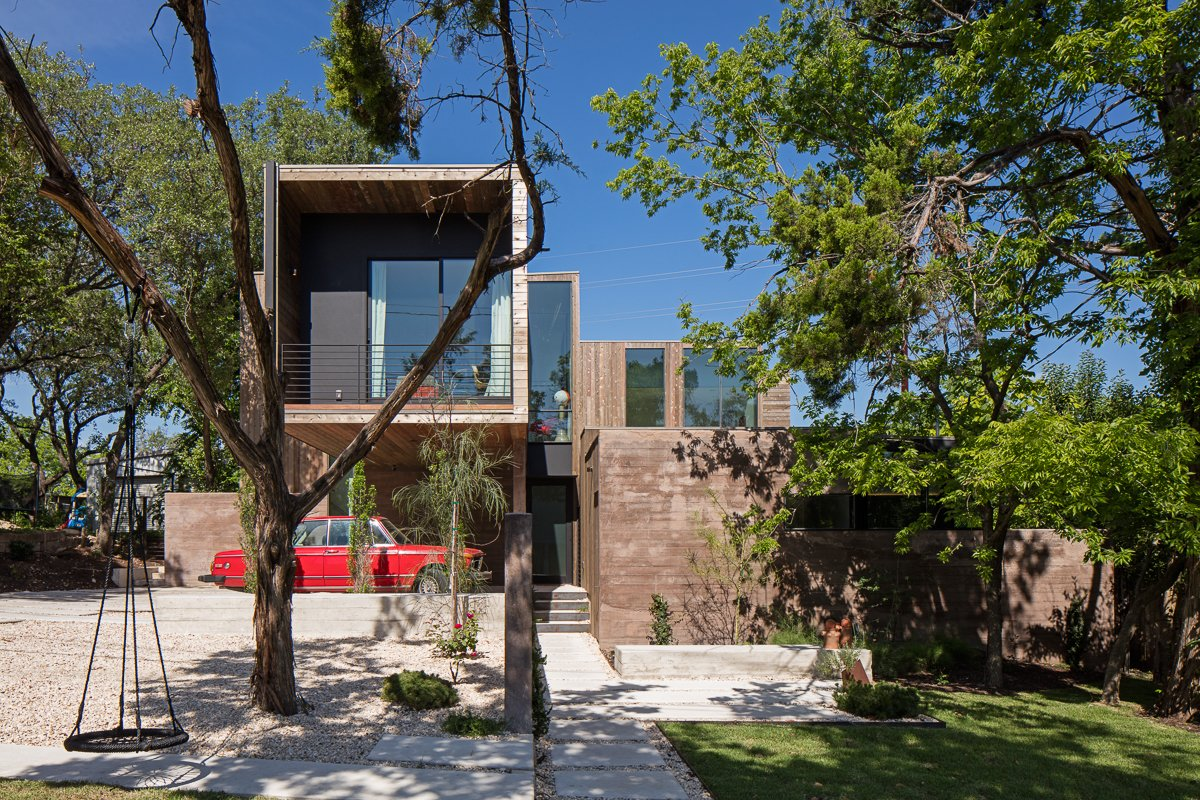 Tagged: Outdoor and Front Yard.  Tetra House by Bercy Chen Studio