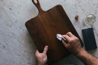 Oiling imparts a luminous sheen to wooden surfaces