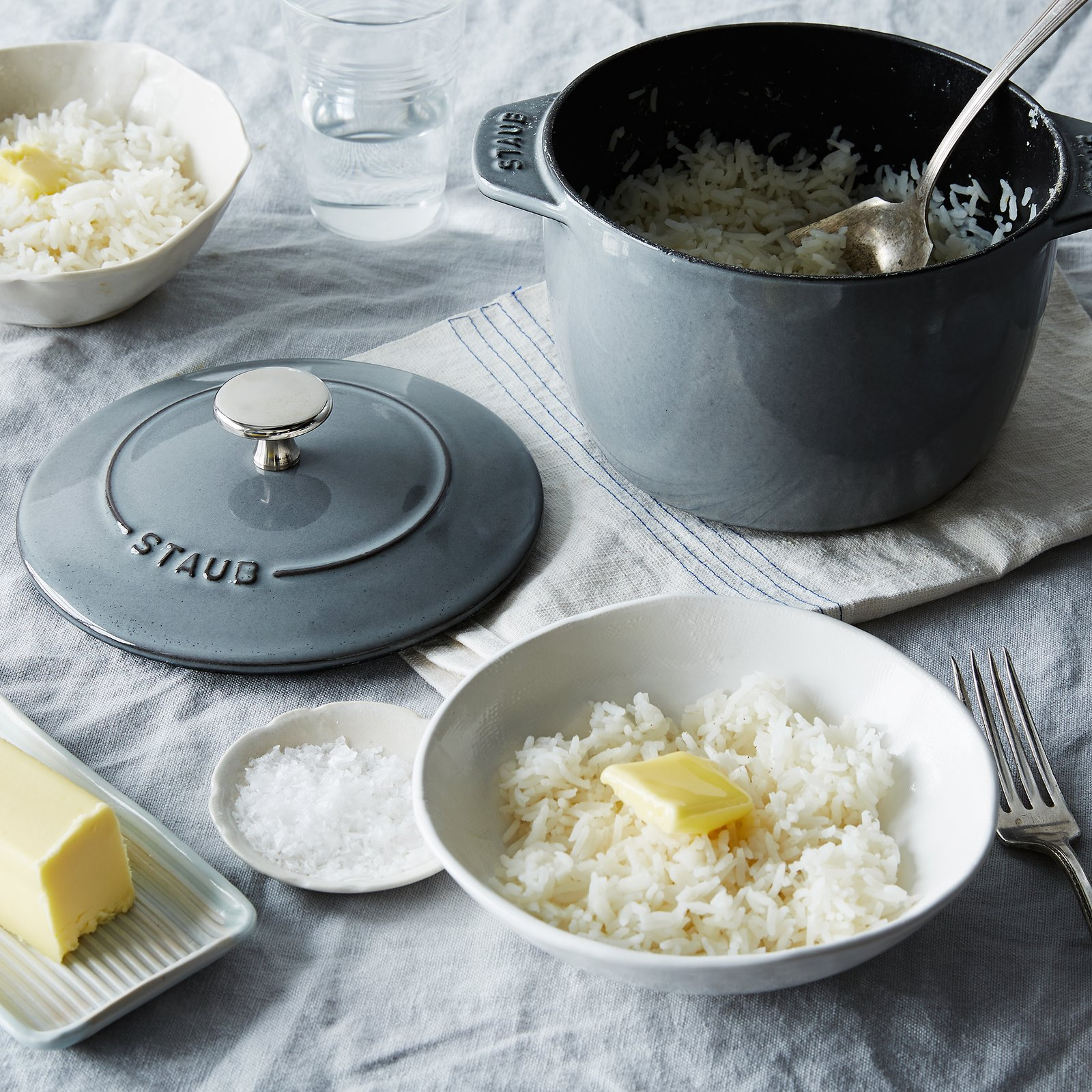 how to cook white rice on stovetop