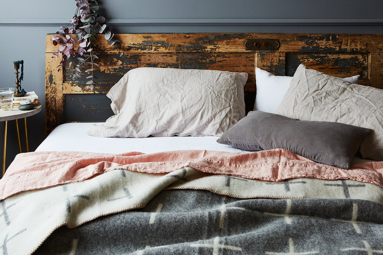 stonewashed linen bedding by food  dwell - stonewashed linen bedding