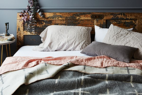 Stonewashed Linen Bedding