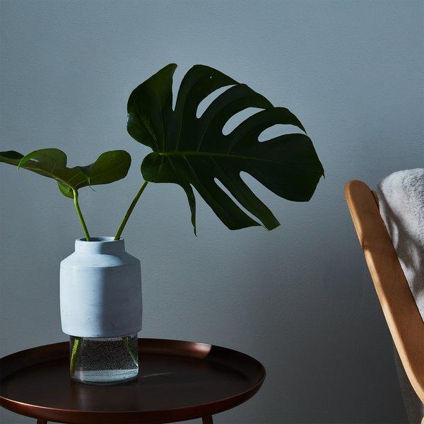 Glass & Concrete Vase