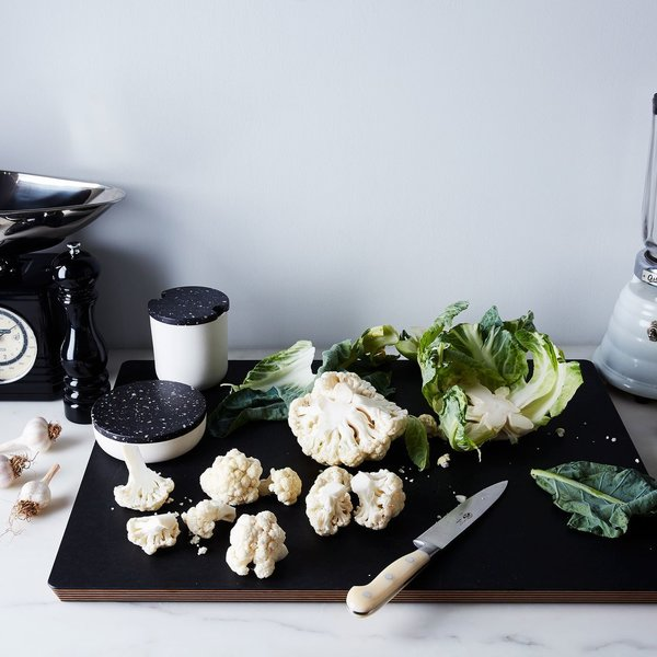 Matte Black Natural Fiber Cutting Board