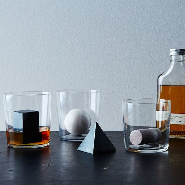 Geometric Whiskey Stone