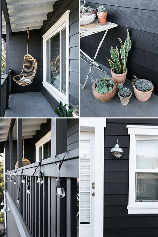 #sfgirlbybay #paintitblack  Backyard Style by Hondo Lewis from Paint It Black!