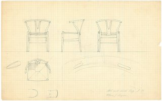 On Design: Carl Hansen and Søn - Photo 2 of 3 - Wishbone Sketch