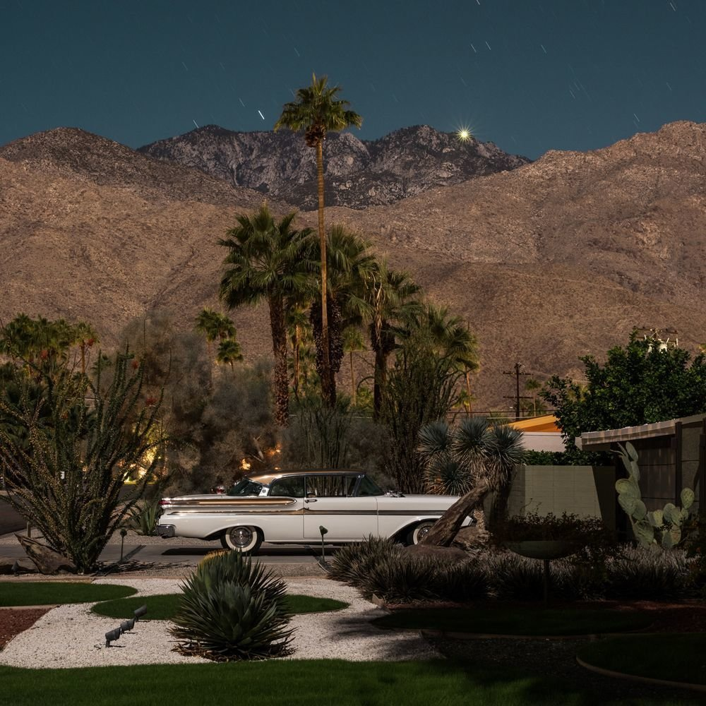 Photo 7 of 16 in Here's Palm Springs In All Its Nighttime Glory