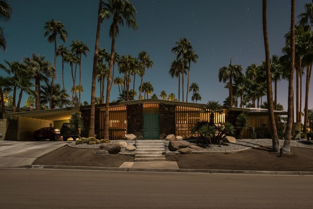 Photo 9 of 16 in Here's Palm Springs In All Its Nighttime Glory
