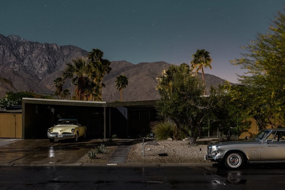 Photo 16 of 16 in Here's Palm Springs In All Its Nighttime Glory