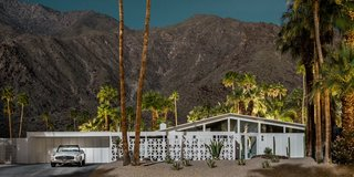 Here's Palm Springs In All Its Nighttime Glory - Photo 1 of 15 -