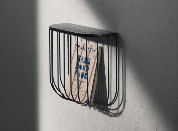 Cage Wall Shelf