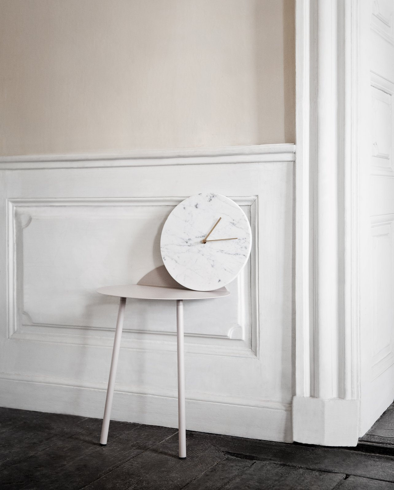 Photo 1 of 1 in Marble Wall Clock