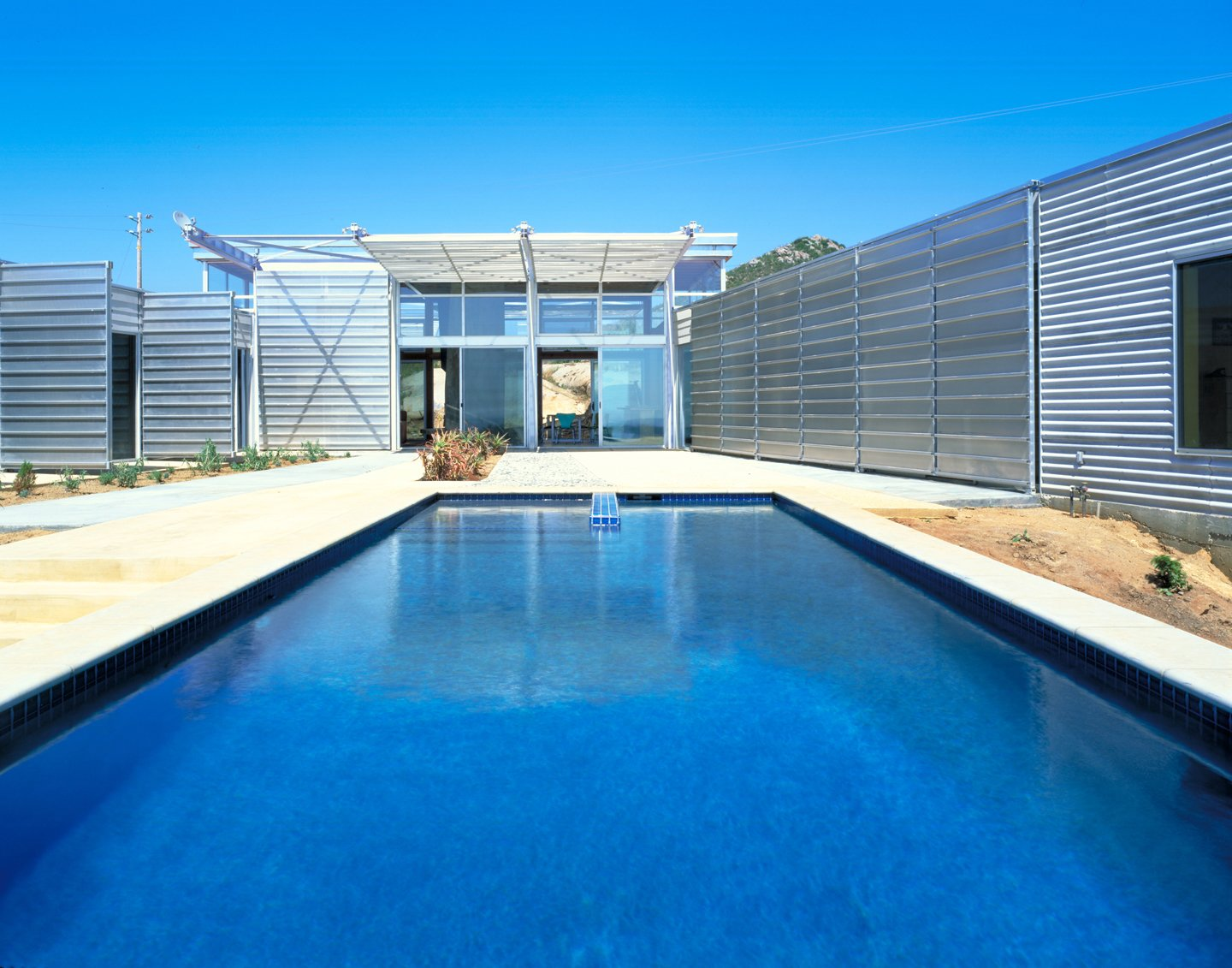 #exterior #outside #outdoor #pool #pooldesign #eco #green #sustainable #ValleyCenter #California #KevinDalyArchitects