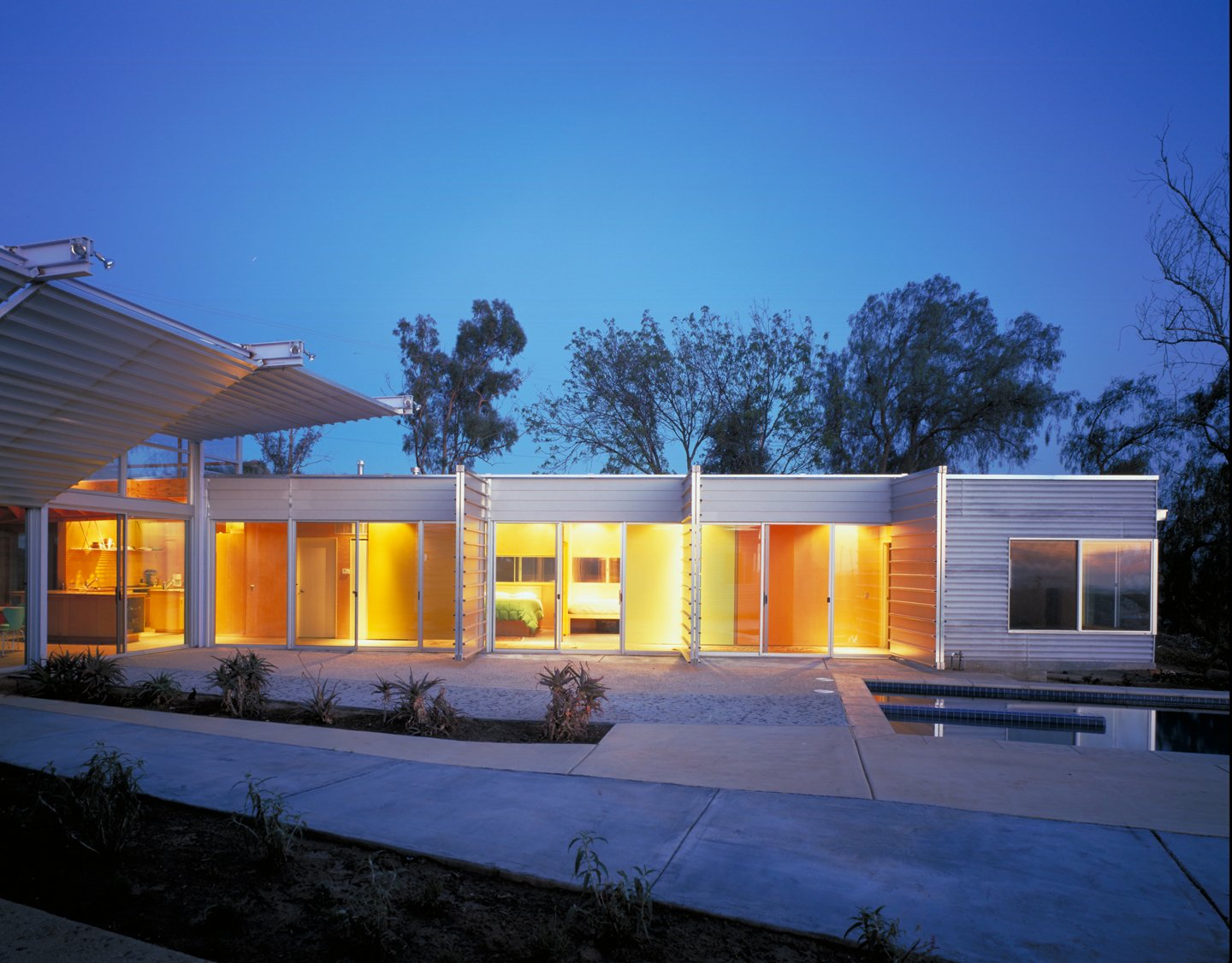 #exterior #outside #outdoor #landscape #eco #green #sustainable #ValleyCenter #California #KevinDalyArchitects