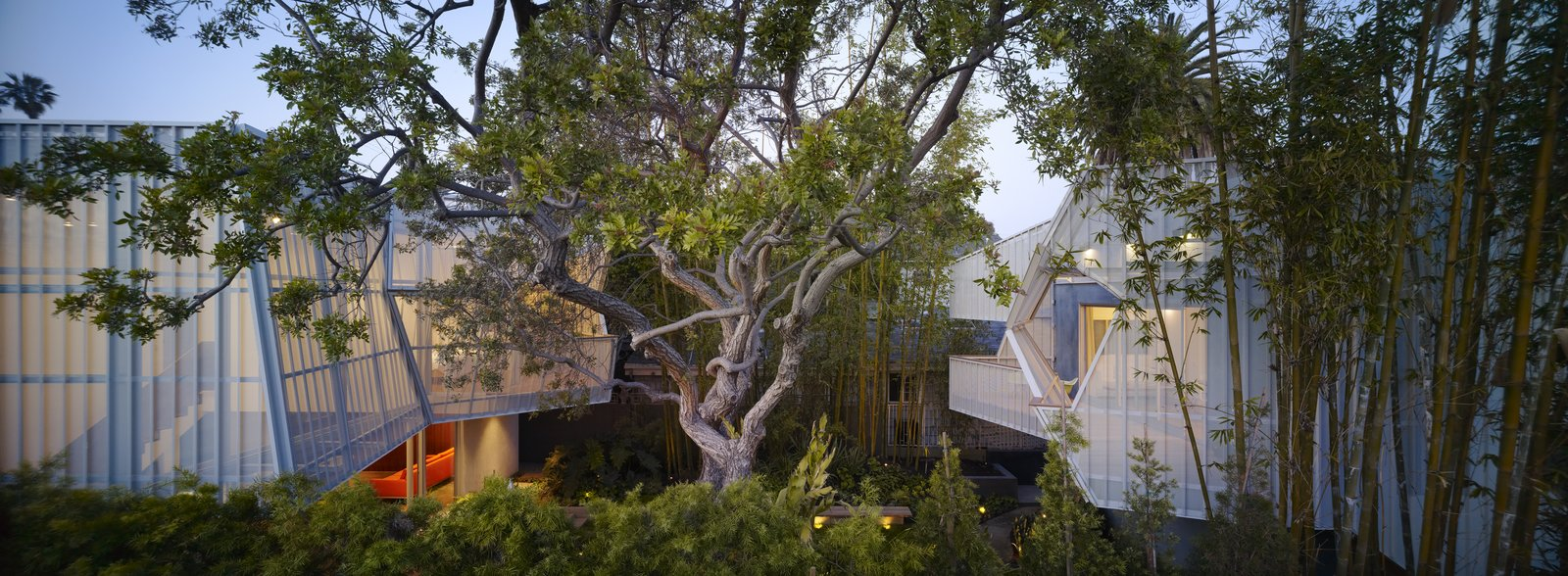 #outside #exterior #outdoor #landscape #view #aluminum #metal #eco #green #sustainable #Venice #California #KevinDalyArchitects  Venice Residence by Kevin Daly Architects