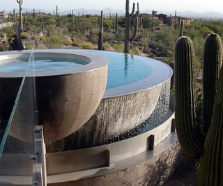 5 Sustainable Ways To Beat the Heat Without Air Conditioning - Photo 9 of 11 - In hot, dry climates like the Southwest, fountains with regularly-circulating water create evaporative cooling.