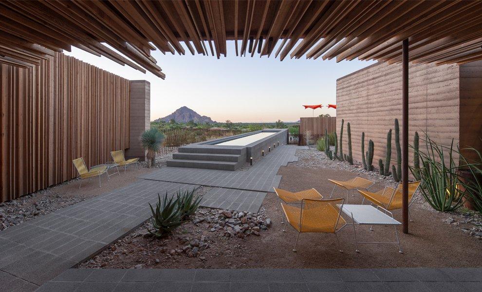 #interior #exterior #modern #arizona #2012 #architecture #jonesstudio #residence #lighting #naturallighting #backyard #desert #seatingdesign #color #pooldesign  The Outpost by Jones Studio