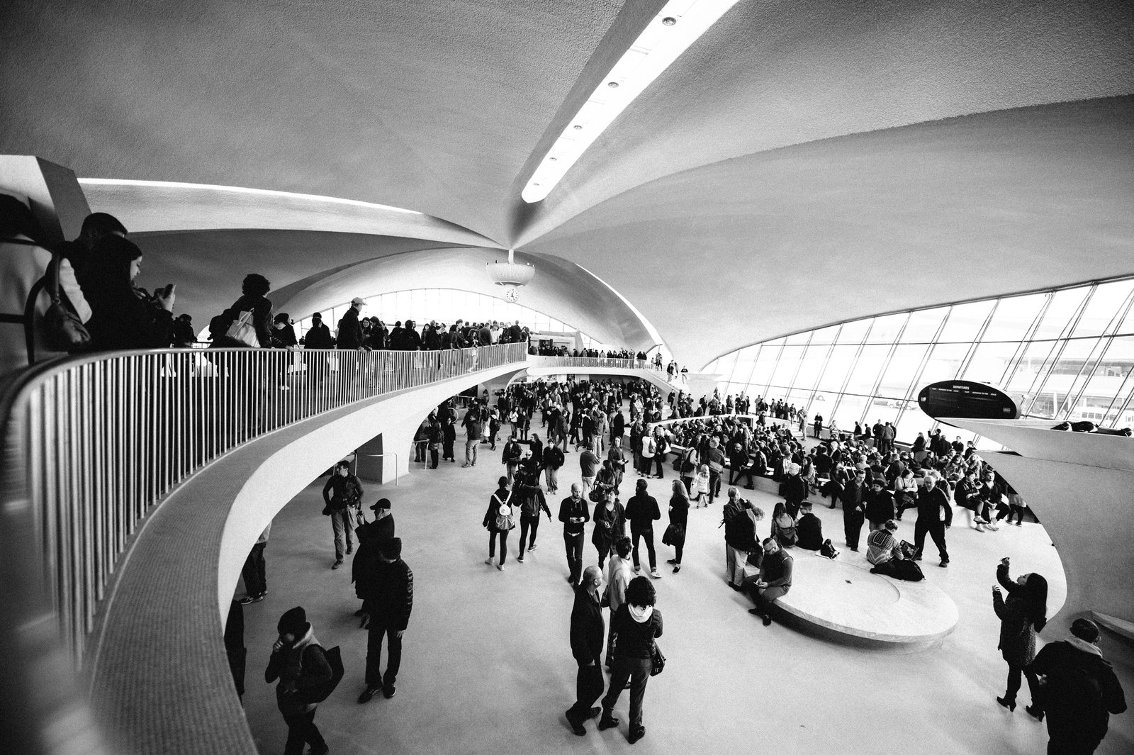 TWA Flight Center by Eero Saarinen  TWA Flight Center by Eero Saarinen by COOL HUNTING