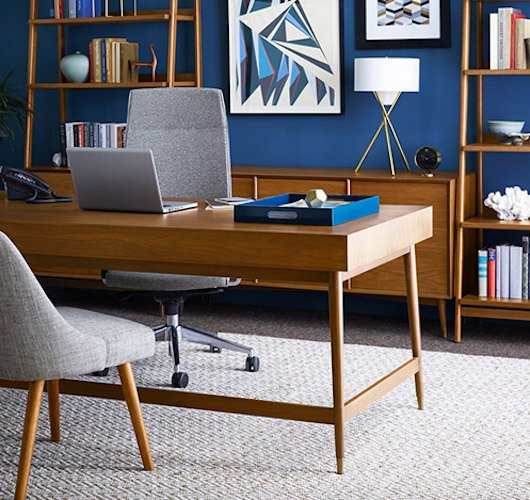 #WestElm #workspace #midcentury West Elm Workspace - Midcentury Collection by West Elm