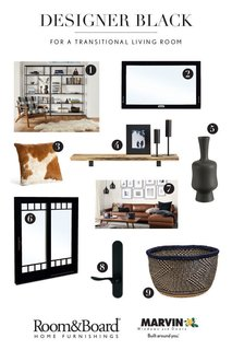 Diagnosing Your Designer Black Style: Three Rooms, Three Ways   Photo 3 Of 3 Part 45