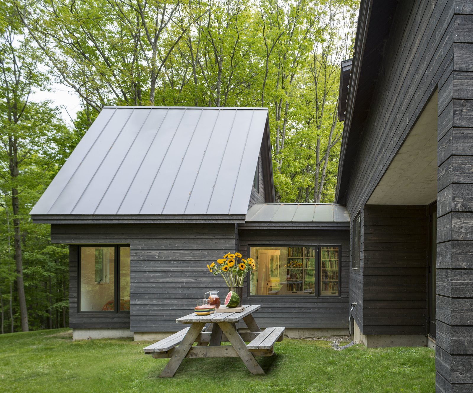 Architect Elizabeth Herrmann's Knoll House project, Best Transitional category winner of 2017 Marvin Architects Challenge.   Tagged: Outdoor, Trees, and Grass.  Knoll House by Marvin Windows and Doors