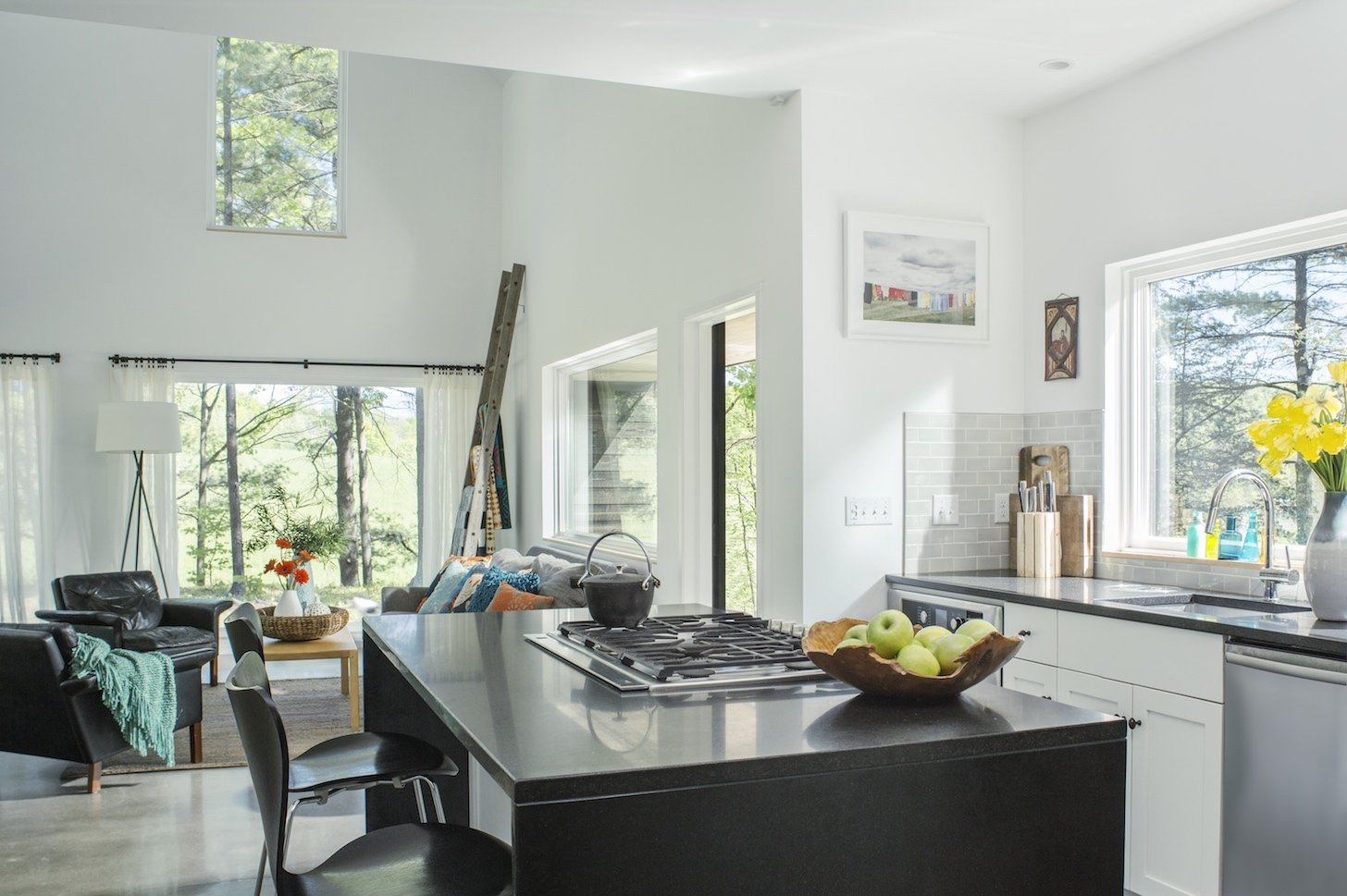 Architect Elizabeth Herrmann's Knoll House project, Best Transitional category winner of 2017 Marvin Architects Challenge.   Tagged: Kitchen. Knoll House by Marvin Windows and Doors