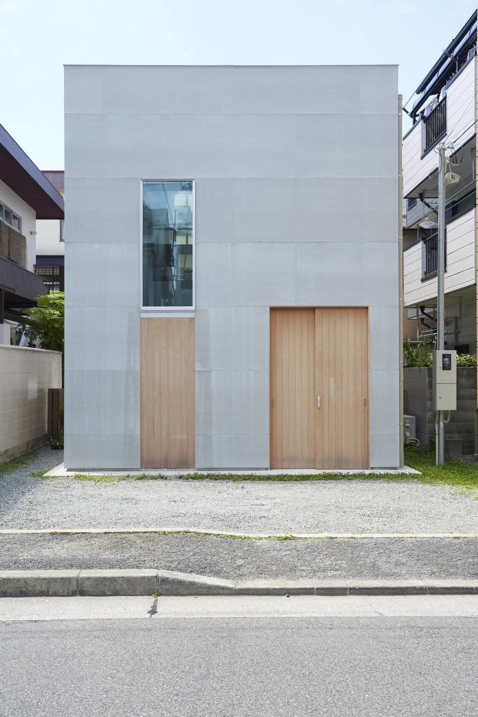 Unabashedly Strange Houses in Japan by Luke Hopping from Residence and Playground by Sota Matsuura Architects