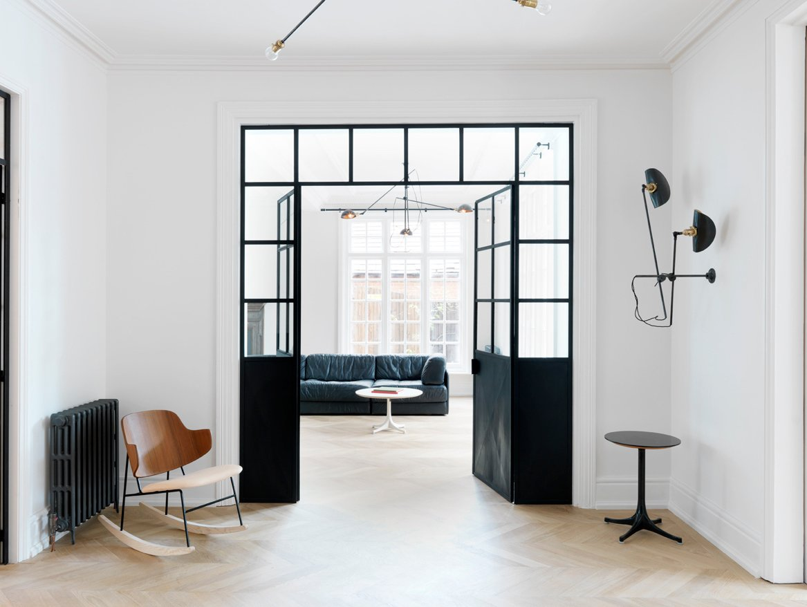 Inspired by the different movements in modern art, this West London House by award-winning interior design firm Studio MacLean has a streamlined, minimalist aesthetic.  Photo 1 of 6 in West London House by Studio Maclean