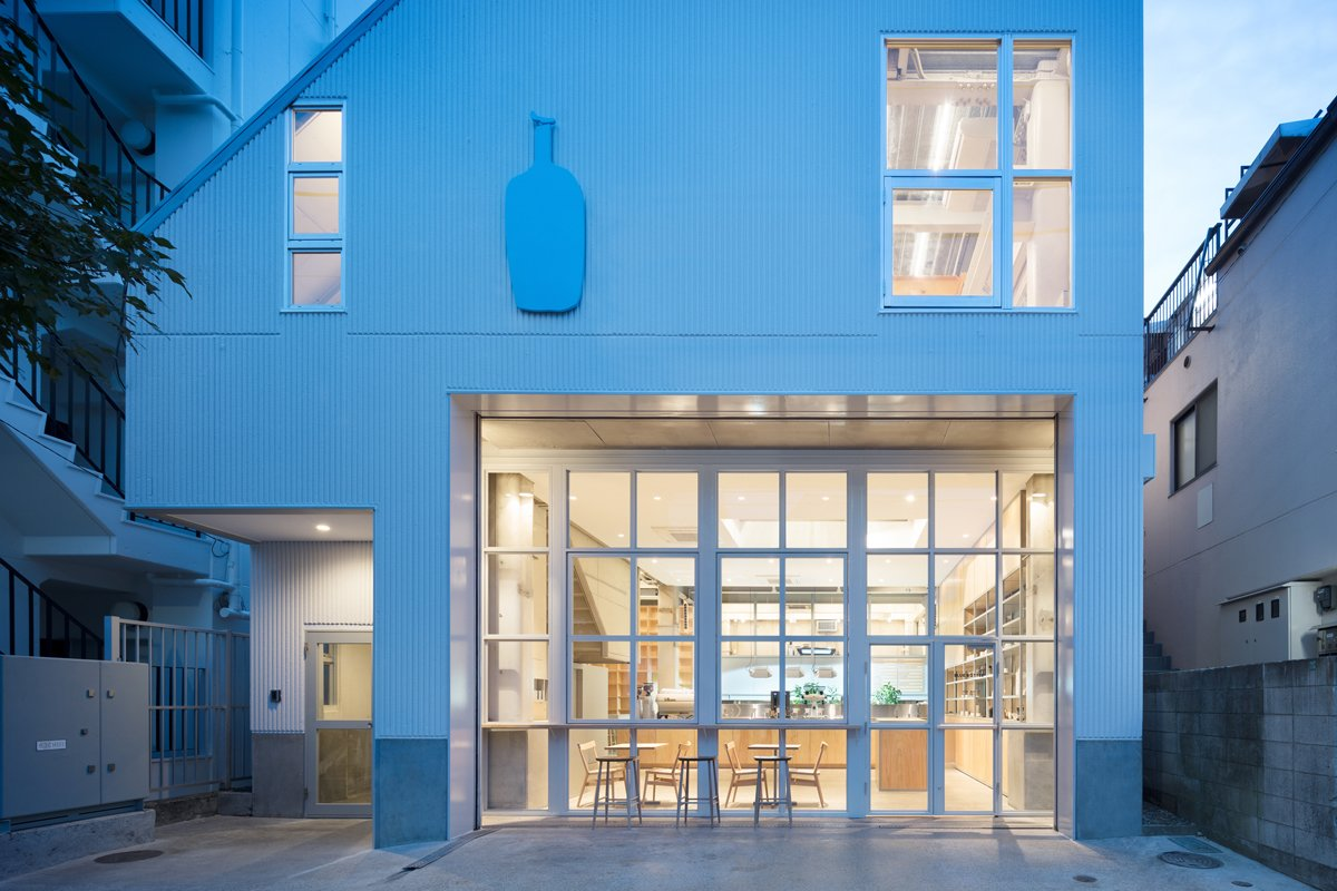 Photo 1 of 6 in Blue Bottle Coffee Nakameguro Cafe by Schemata Architects
