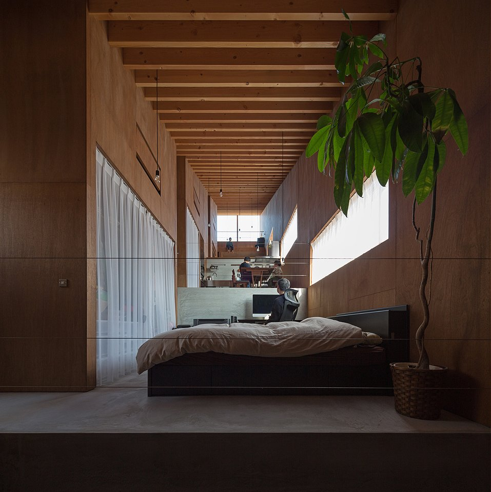 Photo 4 of 5 in 5-in-1 Room Dwelling by Matsuyama Architects and Associates