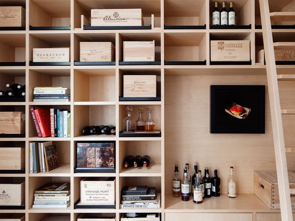 Photo 3 of Wine Collector's Flat by Amos Goldreich Architecture modern home