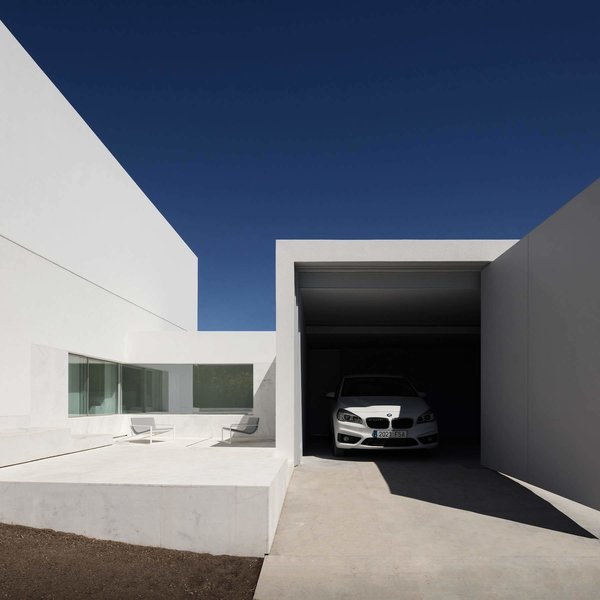 Garage Photo 6 of House Between the Pine Forest modern home