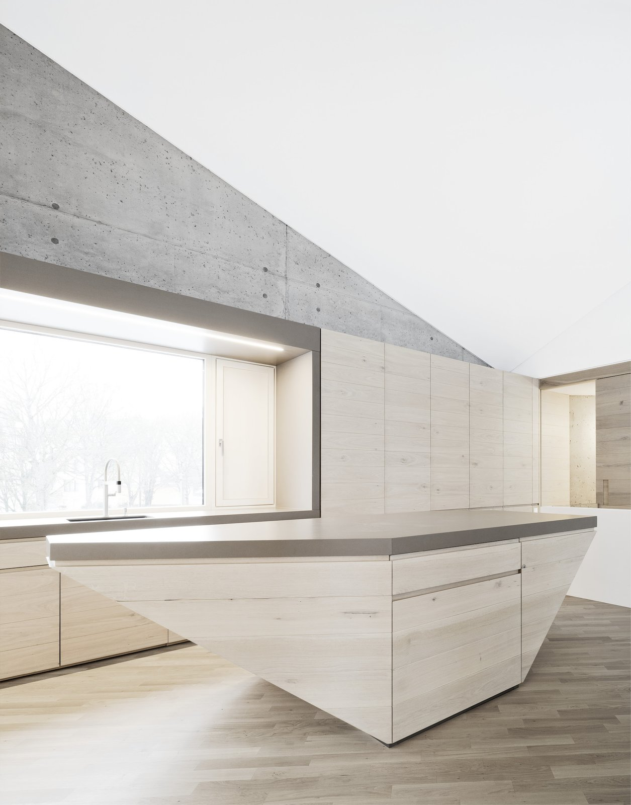 Kitchen island  E20 by Leibal