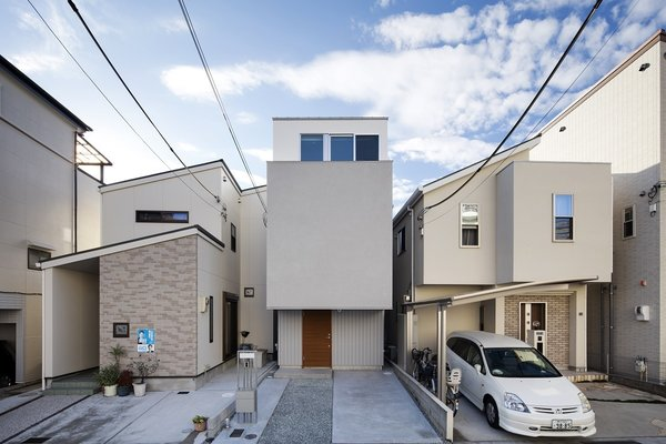 Front facade Photo 7 of House in Kitami modern home