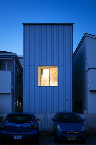 Back facade Photo 8 of House in Kitami modern home