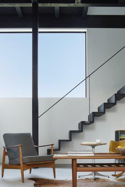 Staircase Photo  of Black Box House modern home