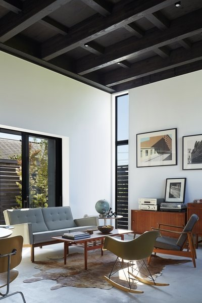 Living room Photo 5 of Black Box House modern home