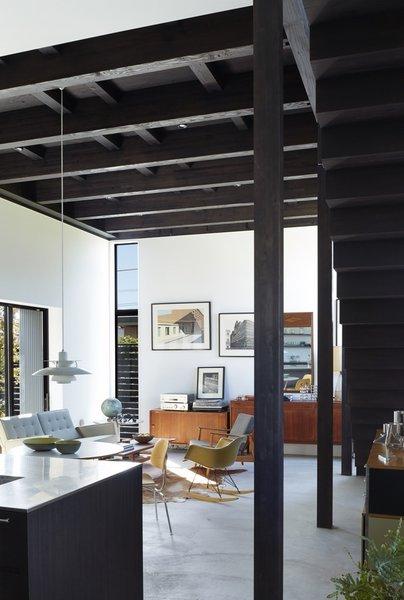 Living room Photo 4 of Black Box House modern home