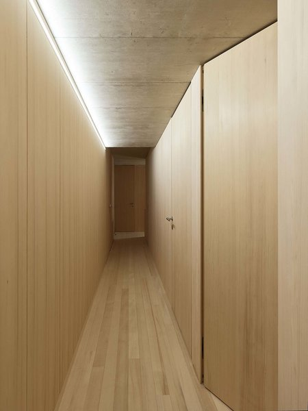Hallway Photo  of The Small Black modern home