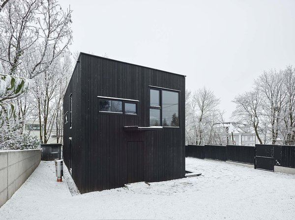 Back facade Photo 6 of The Small Black modern home