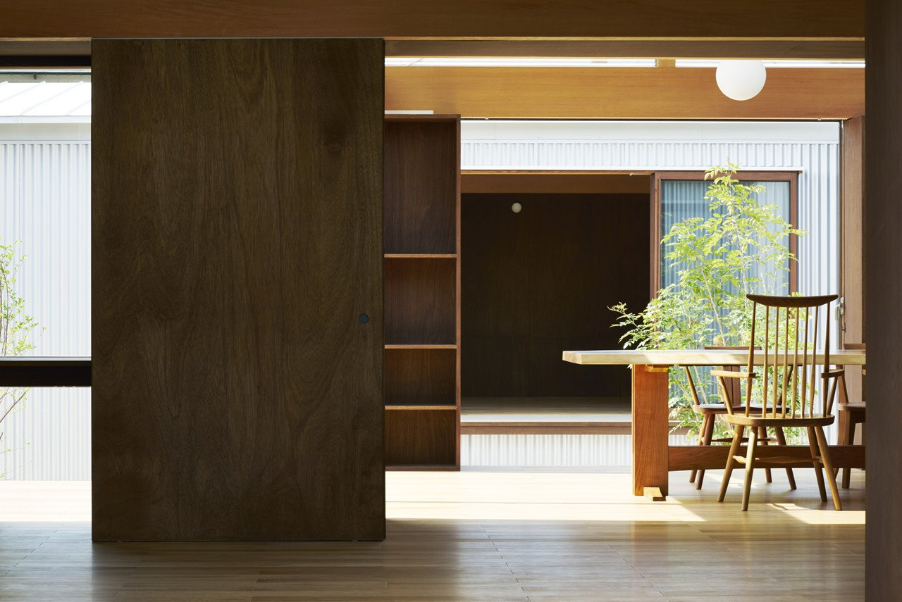 House with Gardens and Roofs by Arii Irie Architects by Leibal