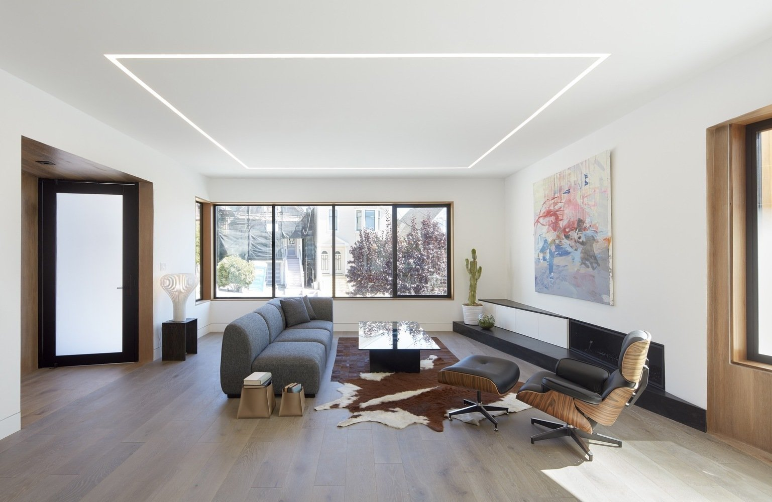 Living room  Noe Valley House by Leibal