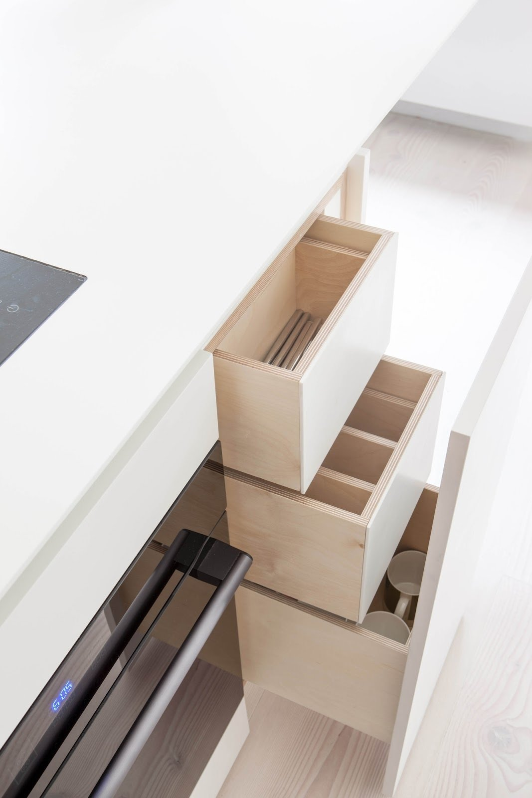 Drawers  Bankside Apartment by Leibal