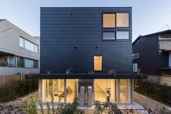 Back facade Photo 9 of Gururi modern home