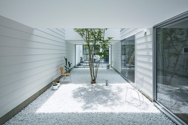 Courtyard Photo 10 of 3 Walls in Fukuroi modern home