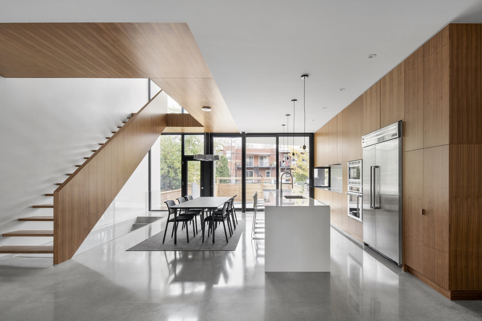 Kitchen 1st Avenue Residence by Leibal