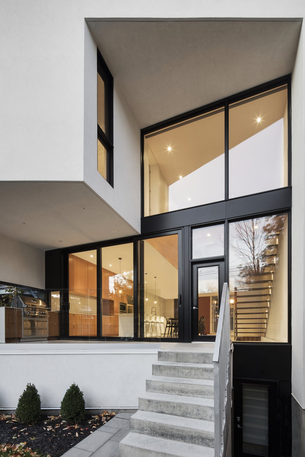 Tagged: Outdoor and Front Yard.  1st Avenue Residence by Leibal