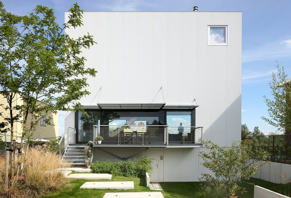 Front facade Photo 4 of House with 11 Views modern home
