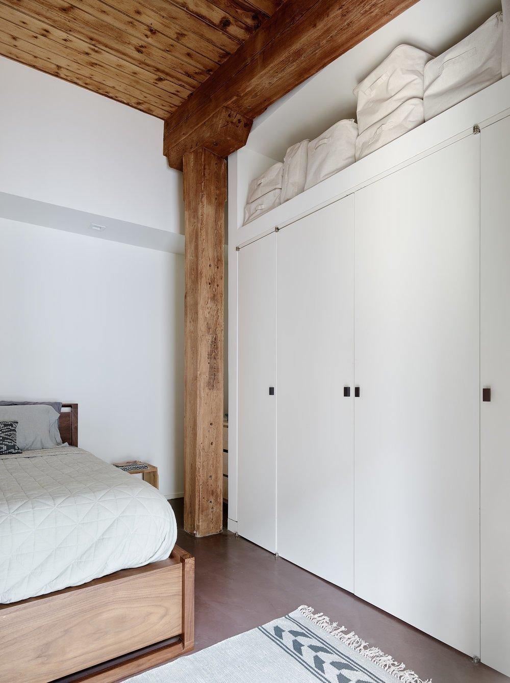 bedroom from Gowanus Loft